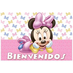Cartel De Bienvenidos - Minnie Bebe