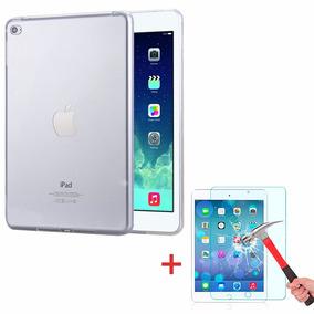 Capa Tpu Transparente Ipad Mini 4 Case + Película De Vidro