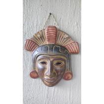 Mascara Prehispánica Artesanía Mexicana
