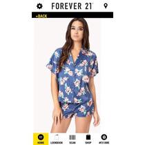Forever 21 Lindos Sets De Pijama Satinadas Tallas S, M Y L