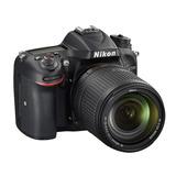 Cámara Nikon D7200 Con Lente Af-s Dx Nikkor 18-140mm Msi