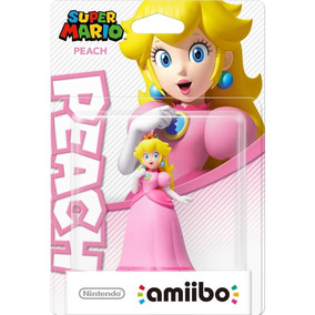 Super Mario Peach Amiibo