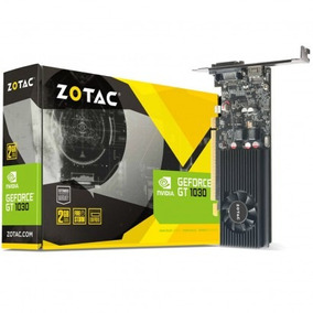 Placa De Vídeo Zotac Geforce Gt 1030 2gb 64 Bits Pci-express