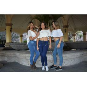 Mayoreo Jeans Tipo Colombiano Varios Modelos Pantalones Push