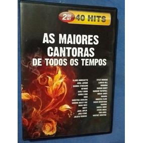 As Maiores Cantoras De Todos Os Tempos Dvd Duplo 40 Hits