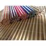 6 Peças Jogo Americano Esteira Bambu Cores Sortidas45x30(fp)