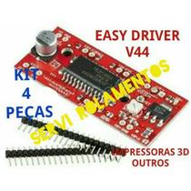 Kit 4 Peças Easy Driver V44 A3967 Motor Passo Arduino Pic