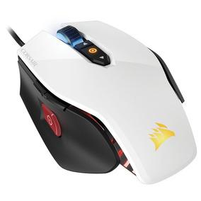 Mouse Gamer Corsair M65 Pro Rgb Blanco 12000 Dpi Gamer Fps