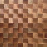 Revestimento De Madeira 30x30cm - Gaia Design - Mosaico 8
