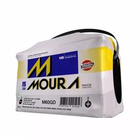 Bateria Moura 60 Amperes Nova Com 18 Meses De Garantia .