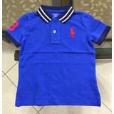 Camisa Infantil Polo Ralph Lauren Menino Original