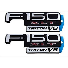 Ford F-150 Xl Tritón V8 Fender Emblema A La Derecha