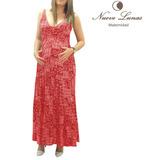 Vestido Materno Largo