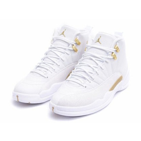 Tênis Nike Air Jordan 12 Ovo White Original