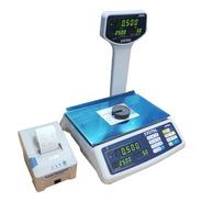 Balanza Electronica Systel Croma 30 Kg + Impresor Eco 2