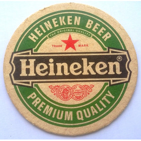 Bolacha Chopp Cerveja Heineken - Anos 90 Brahma