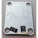 Fender Placa Trasera, Neck Plate, Original
