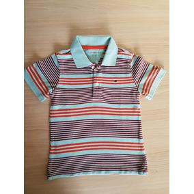 Camiseta Gola Polo Tommy Hilfiger Menino 3t 3 Anos Seminova