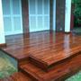 Deck De Madera Eucaliptus Grandis Con Colocación Incluída