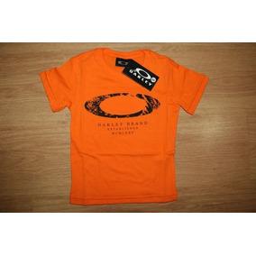 Camiseta Estp. Infantil Oakley Criança Menino Masc. Promoção 2f80e1be826