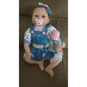 Boneca Bebê Reborn Realista 55cm Pronta Entrega Fotos Reais