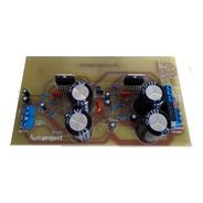 Modulo Amplificador 100+100 W Puenteable A 200 W Con Coolers