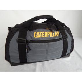 Bolso Caterpillar - Deportivo O Viaje Gran Cap - Gris