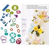 Molde Cortador Libro Para Hacer Flores Fondant Reposteria