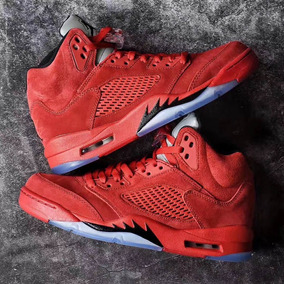 zapatillas jordan rojas hombre