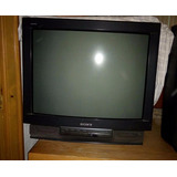 Televisión Sony Trinitron Solo Cascaron Pulgadas 27 X Piezas
