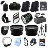 Paquete De Accesorios Ultra Profesional: Para Cámara Nikon D