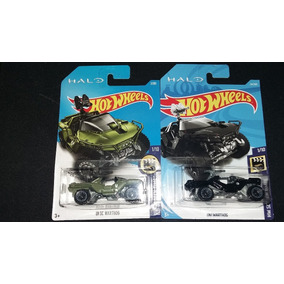 Hot Wheels Halo Unsc Y Oni Warthog Set 2 Piezas 1/64
