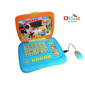 Notebook Infantil Educativo Mickey E Amigos Disney Português