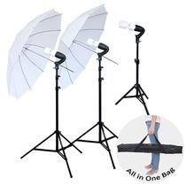 Kit De Iluminacion 3 Luces Compacto Video Y Fotografia