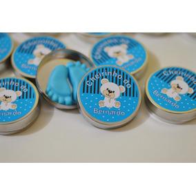 60 Lembrancinha Chá De Bebe - 120 Pezinho Em Sabonete K