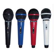 Microfono Dinam Unidireccional American Sound Tdm-208 Negro