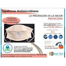 Mascarillas Anti-microbiano Reutilizable 100% Hilo De Cobre