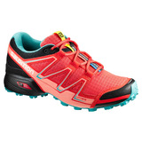 Tenis Mujer Salomon Trail Running Dama Speedcross Vario Rosa