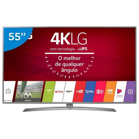 Smart Tv Led 55uj6585 55 Ultra Hd 4k Wi-fi Titanio/preto Lg