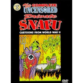 The Complete Uncensored Private Snafu Dvd Caricaturas De1944
