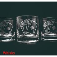 Vasos Vidrio Whisky Personalizado X1u Grabado Laser Eventos Cumpleaños Regalos Souvenir Vaso Durax Rigolo Nadir Logos