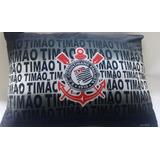 Almofada Travesseiro Personalizado Time Corinthians