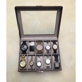 Alhajero Para Guardar 10 Relojes