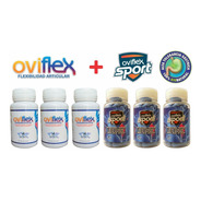 Pack 3+3 (oviflexsport X3 + Oviflex X3) Doble Colágeno