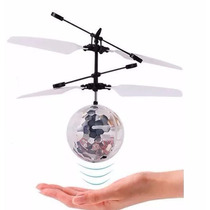Dron Esfera Voladora Luminosa Helicoptero Flying Ball