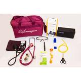 Kit Bordô Para Enfermagem Completo Com Aparelho De Pressão