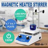 Sh-2 Agitador Magnético Placa Controles Doble Pantalla Digit