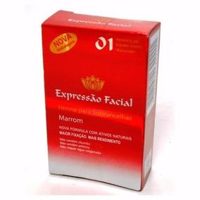 Henna Para Sobrancelha Expressão Facial- 3 Und. Frete Grátis