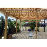 Cotización Para Pérgolas, Tejados, Roof Garden, Tejabanes