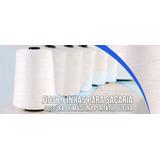 Linha Fio Para Máquina De Costurar Sacaria - 80 Cones C/ Nfe